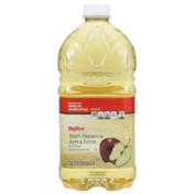 Hy-Vee 100% Premium Apple Juice