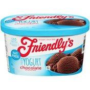 Friendly's Chocolate Frozen Yogurt