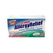 Western Family Allergy Relief, Loratadine Tablets 10 mg, 24-Hour Non Drowsy Formula