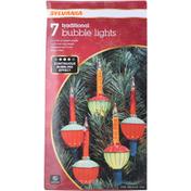 SYLVANIA Bubble Lights, Traditional