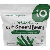 Inspired Organics Green Beans, Organic, Cut
