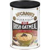 McCann's Imported Quick & Easy Steel Cut Irish Oatmeal