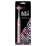 ARC Metal Sonic Power Toothbrush + Travel Case - Pink
