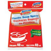 Special Value Plastic Soup Spoons