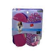 Hanes Women's Pink Athletic Socks