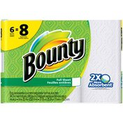 Bounty Paper Towels, White