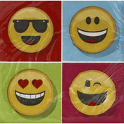 Party Creations Napkins, Show Your Emojions, 2 Ply