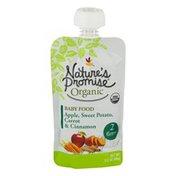 Nature's Promise Organic Baby Food Apple, Sweet Potato, Carrot & Cinnamon 6m+