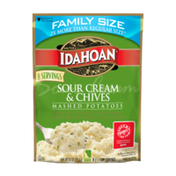 Idahoan Sour Cream & Chives Mashed Potatoes Family Size