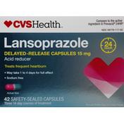 CVS Health Lansoprazole Delayed-Release, Acid Reducer 24 Hour