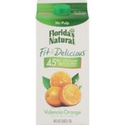 Florida's Natural Fit & Delicious Juice Beverage Valencia Orange No Pulp