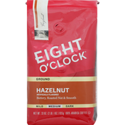 Eight O'Clock Coffee Coffee, 100% Arabica, Ground, Medium Roast, Hazelnut