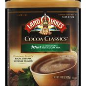 Land O Lakes Hot Cocoa Mix, Mint & Chocolate