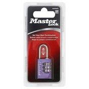 Master Lock Combination Padlock, Blister Pack
