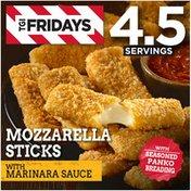 T.G.I. FRIDAY'S Mozzarella Sticks with Marinara Sauce