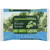 Signature Farms Brussels Sprouts, Petite, Steam in Bag