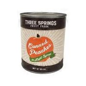 Three Springs Canned Peaches