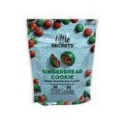 Little Secrets Gingerbread Cookie Dark Chocolate Candies