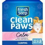 Fresh Step Calm Clean Paws Cat Litter