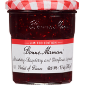 Bonne Maman Spread, Strawberry - Raspberry and Elderflower