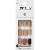 imPRESS Nails, Short Length, Before Sunset