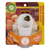 Air Wick Essential Oils Scented Oil Refill with Warmer Pumpkin Spice