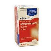 Equaline Regular Strength Pain Relief Acetaminophen Tablets