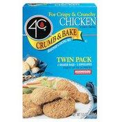 4C Crumb & Bake-Chicken Twin Pack Coating