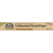 If You Care Unbleached Waxed Paper