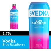 SVEDKA Blue Raspberry Flavored Vodka