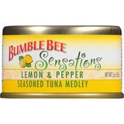 Bumble Bee Lemon & Pepper Seasoned Tuna Medley