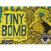 WISEACRE Beer, American Pilsner, Tiny Bomb