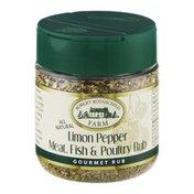 Robert Rothschild Farm Limon Pepper Meat, Fish & Poultry Rub