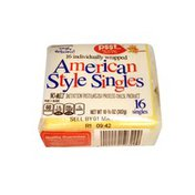 Kroger American Style Individually Wrapped Single Cheese