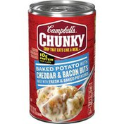 Campbell's® Chunky® Baked Potato with Cheddar & Bacon Bits Soup