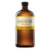 Brew Dr. Kombucha Ginger Turmeric Kombucha