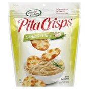 Sensible Portions Pita Crisps, Garlic 'n Chive
