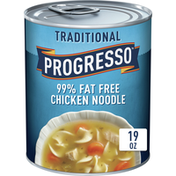 Progresso Traditional, 99% Fat Free Chicken Noodle Soup