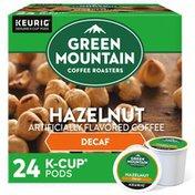 Green Mountain Coffee Roasters Hazelnut Decaf K-Cup Pods