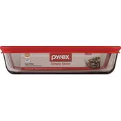Pyrex Glass Storage, 3 Cup