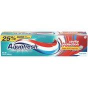 Aquafresh Triple Protection Cool Mint Fluoride Toothpaste
