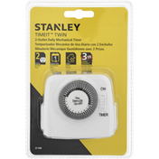 Stanley Daily Mechanical Timer, 2-Outlet