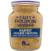 GREY POUPON Harvest Coarse Ground Dijon Mustard