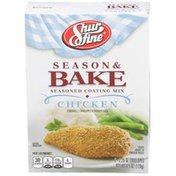 Shurfine Chicken Season & Bake Seasoned Coating Mix