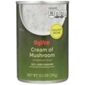Hy-Vee Soup, Condensed, Cream of Mushroom
