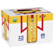Michelob Ultra Pure Gold Organic Light Lager, Beer Cans