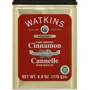 Watkins Cinnamon, Pure, Ground