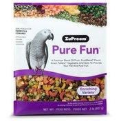 ZuPreem Pure Fun Parrots & Conures Bird Food