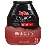 Hy-Vee Black Cherry Energy Liquid Water Enhancer