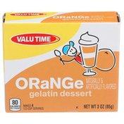 Valu Time Orange Gelatin Dessert